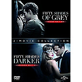 Fifty Shades Darker + Fifty Shades of Grey DVD Double Pack DVD