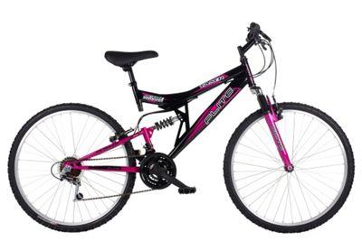 Flite Taser 26 Inch 18-Speed Dual Suspension Ladies' Mountain Bike