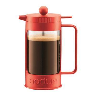 Bodum BEAN Coffee Maker, 3 Cup, 0.35L, Red