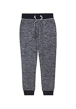 F&F Contrast Fleece Joggers - Grey