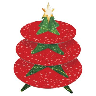 Eddingtons 3 Tier Christmas Cake Stand