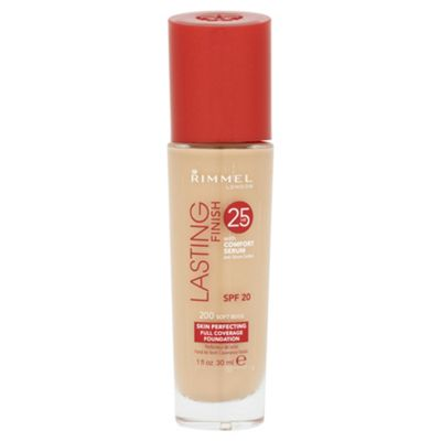 Rimmel Lasting Finish Foundation Soft Beige
