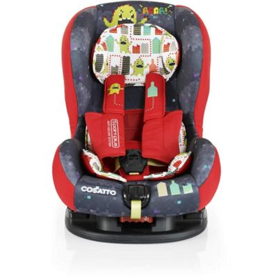 Cosatto Moova 2 Group 1 Anti-Escape Car Seat (Monster Arcade)