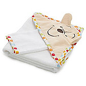 OBaby Winnie the Pooh Hooded Towel & Washmitt