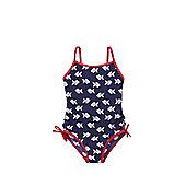 F&F Fish Print Swimsuit - Blue