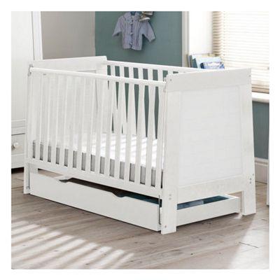 Saplings Pisa Cot Bed - White