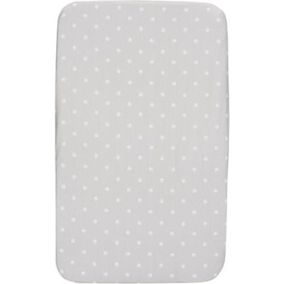 Chicco 2 Pack Fitted Crib Sheet (Silver)