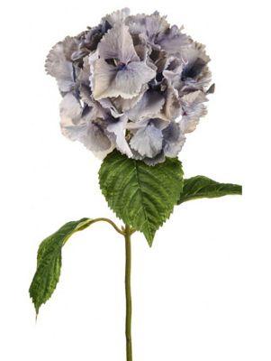 Artificial - Hydrangea - Dusky Blue