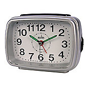 Acctim 13882 Titan 2 Alarm Clock - Silver