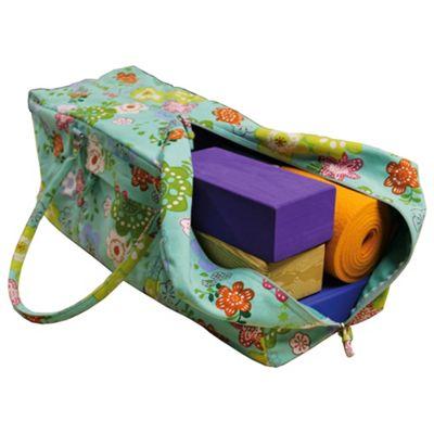 Yoga Mad Kit Bag - Flower Power