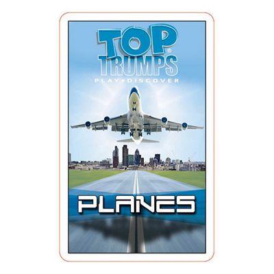Top Trumps Passenger Planes Cards