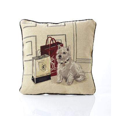 Alan Symonds Tapestry Scotty Cushion Cover - 45x45cm
