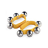 A-Star Large Wrist Bells - Yellow