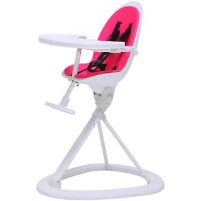 ickle bubba Orb Highchair (White/Pink)