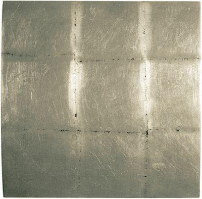 Oceans Apart Convex Block Silver Wall Art