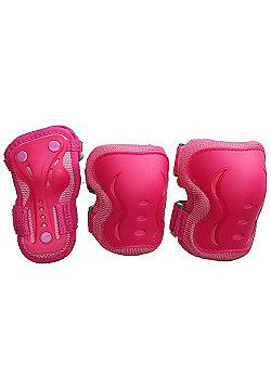 SFR Essentials Triple Padset - Pink - Large (age 9-12)