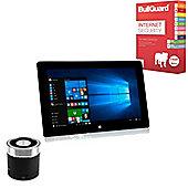 "Viglen Connect 10.1"" Tablet Intel Atom Quad Core 32GB Win 10 with Internet Security & Mini Speaker"