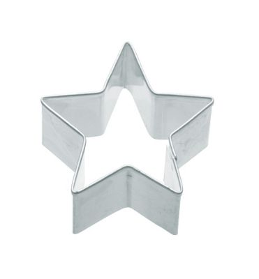 KitchenCraft Cookie Cutter in Star Shaped - 4 cm