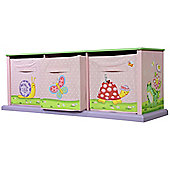 Fantasy Fields by Teamson Magic Garden 3 Bag Storage Cabinet