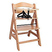 Safetots A Frame Wooden Highchair Natural
