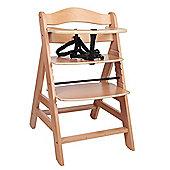 Safetots A Frame Wooden Highchair Natural