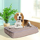 PawHut Pet Bed Padded Sponge Mat for Dog Cat with Removable Washable Cover (Small)