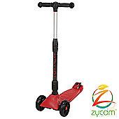 Zycomotion Zycom Zinger 3 Wheel Scooter - Red/Black