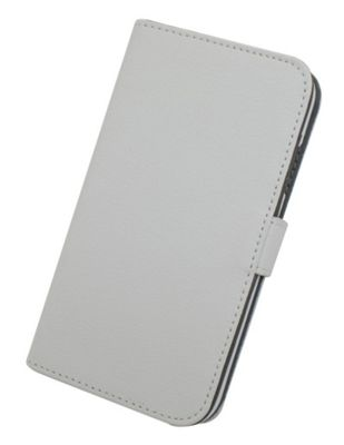 Tortoise™ Genuine Leather Folio Case Samsung Galaxy S4 White