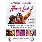Mums list DVD