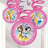 Disney Princess Sparkle Hanging Decorations - Hanging Swirls