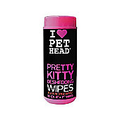 Pet Head Pretty Kitty Wipes 50 pack
