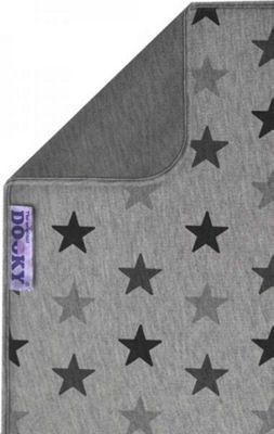 Dooky Blanket Baby Grey Stars