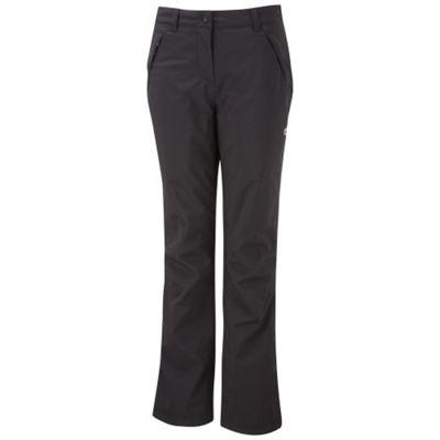 Craghoppers Ladies Aysgarth Trousers Black 18 Regular Leg