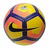 Nike Premier League Pitch Football - Yellow/Purple - Yellow