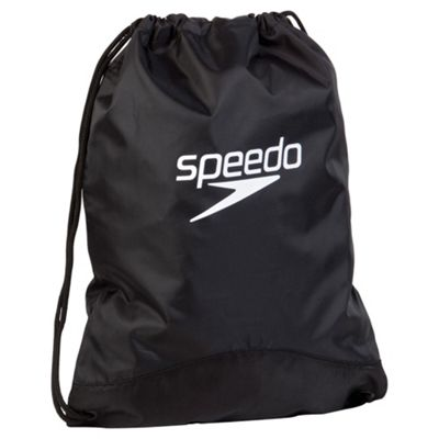 Speedo Wet Kit Bag, Black