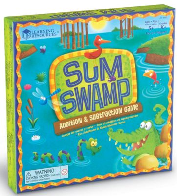 Learning Resources Sum Swamp Game - Addition & Subtraction Game