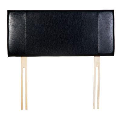 Home Essence Milano Panel Headboard - Single - Black