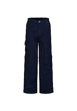 Regatta Kids Sorcer Zip Off Trousers - Blue