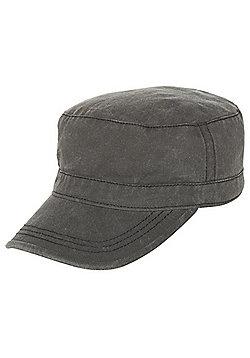 F&F Train Driver Hat - Washed black