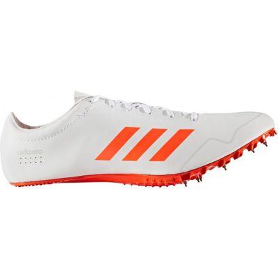 adidas adizero Prime Sprint Running Spike Shoe White/Red - UK 12