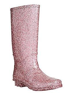 F&F Glitter Wellies - Pink