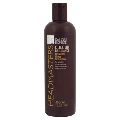 Headmasters Colour Brilliance Brunette Gloss Shampoo 400ml