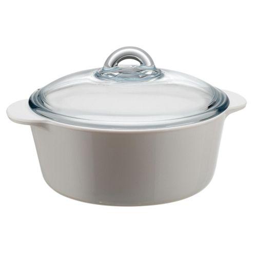 Pyrex 3L casserole+lid