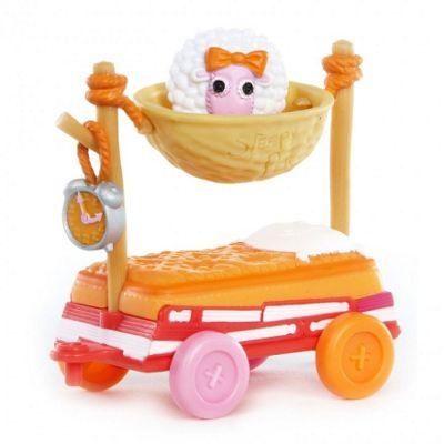 Mini Lalaloopsy Silly Pet Parade - Sleepy Pet Wagon