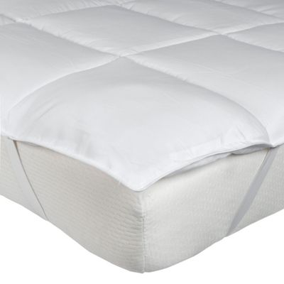 Homescapes Super Microfibre Super King Size Mattress Topper