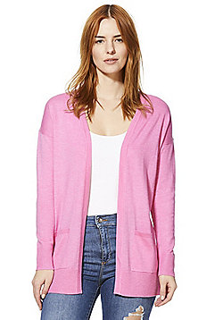 F&F Open Front Cardigan - Pink