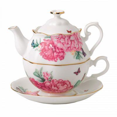 Royal Albert Miranda Kerr Friendship White Teapot for One