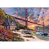 Golden Gate Bridge - 1000pc Puzzle