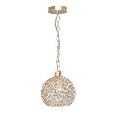 Kudo Ball Shade Non-Electric French Gold/Crystal