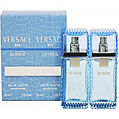 Versace Man Eau Fraiche Gift Set 2 x 30ml EDT Spray For Men